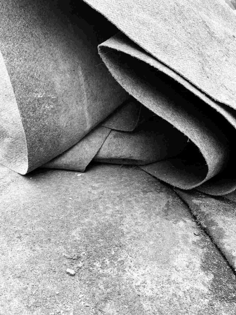 Bild: waste-art Fundstuecke, ein Abfallbild von Georg Marbet