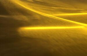 Bild: waste-art Gelb, ein Abfallbild von Georg Marbet
