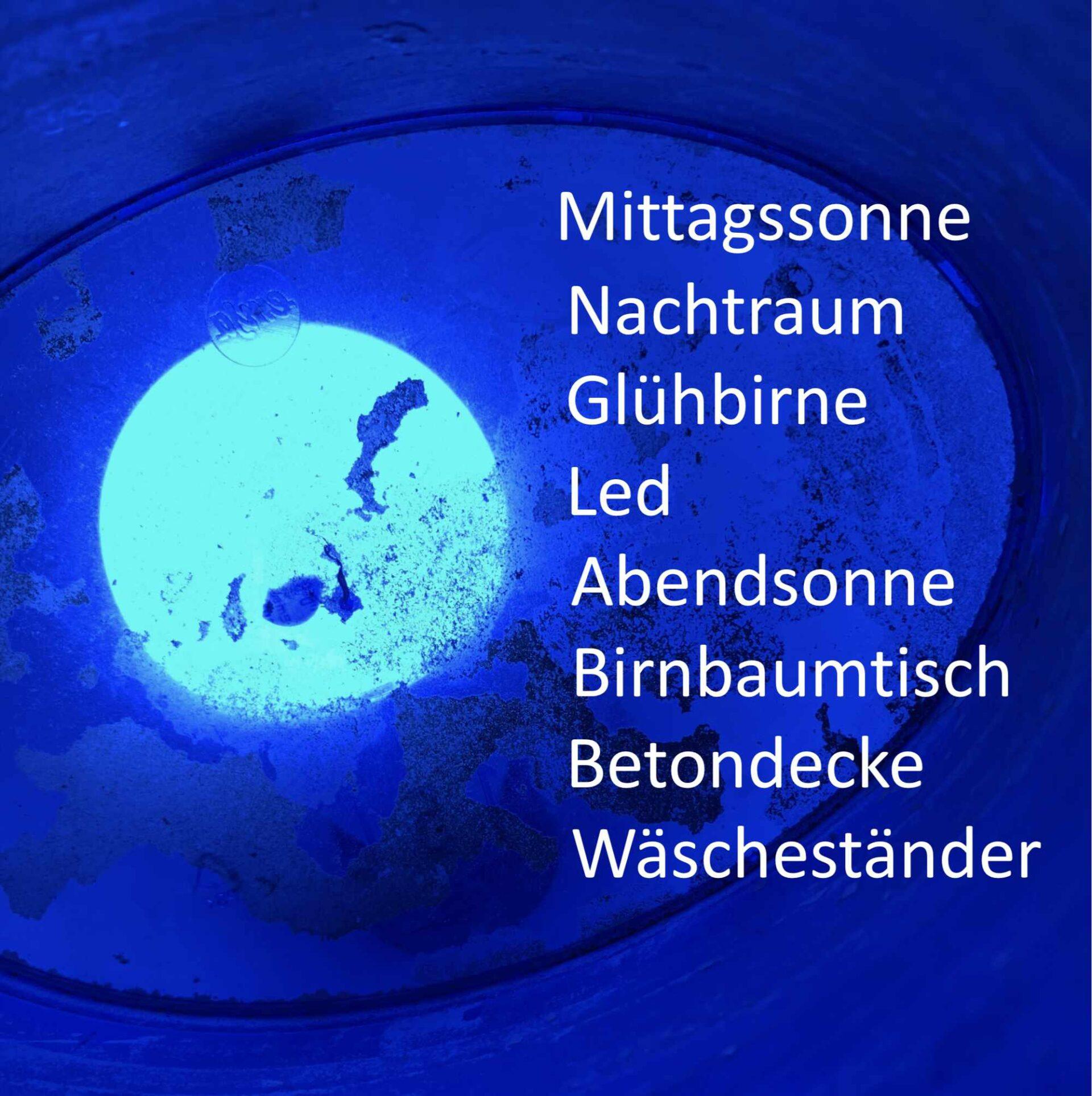 Ingredienzien der Abfallbilder von Georg Marbet