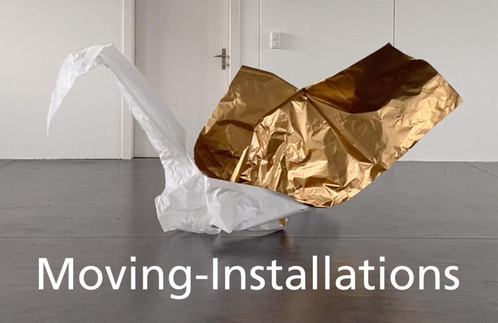 moving installations waste-art