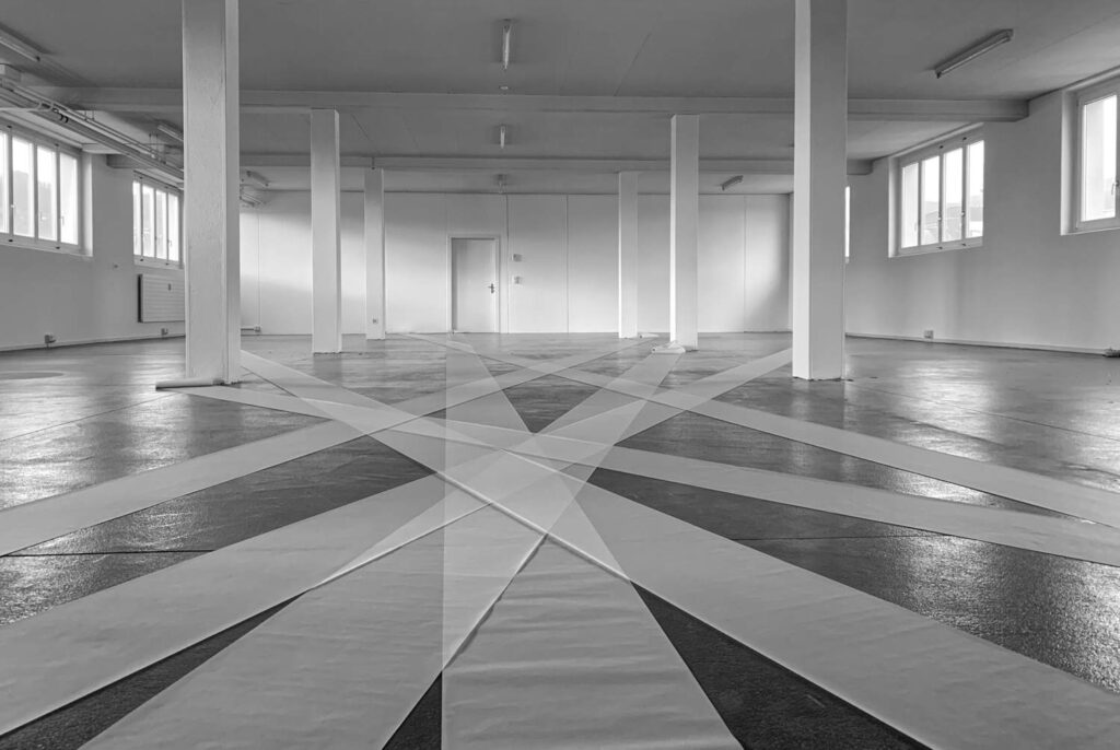 exposition: floor painting