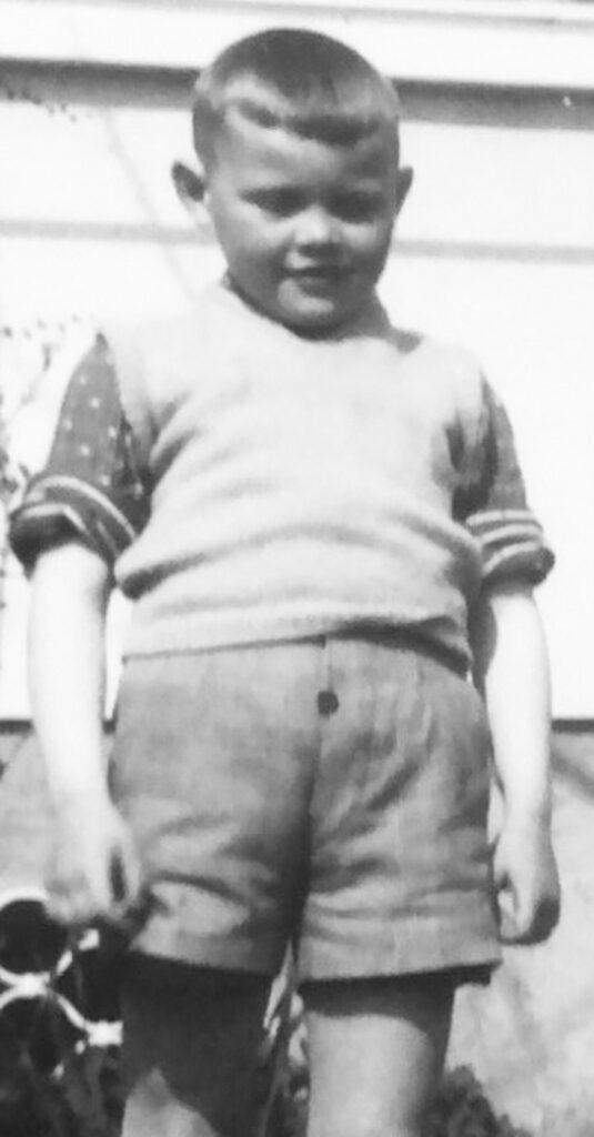 Jugendbild Georg Marbet, Hosensack